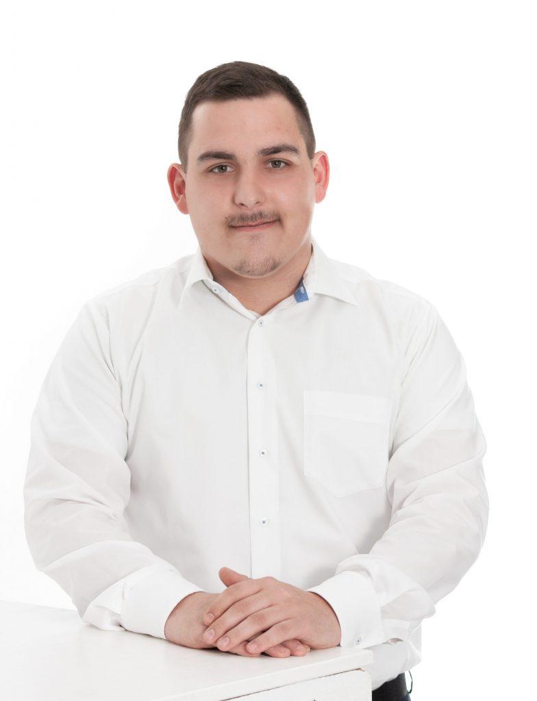 Eric Liebscher, Auszubildender Inkasso-Ausland